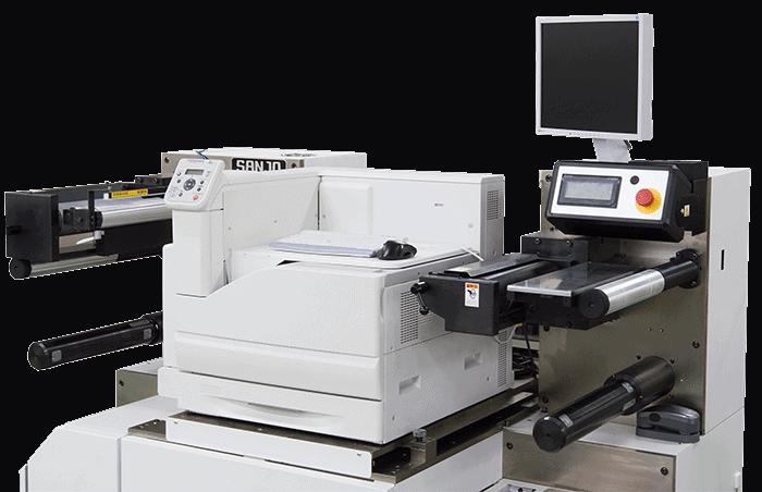 極小ロットオンデマンド印刷機